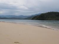 Pasir putih di Pulau Cingkuak (Afif/detikTravel)