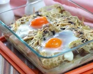 Resep Sayur: Kentang Lapis Jamur