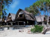 Resort nyaman di Gili Nanggu (Ivan Batara/ACI)