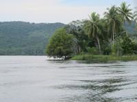 Bagian sisi Pulau Hosena (Sastri/ detikTravel)