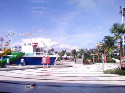 Serunya Main Air di Circus Waterpark Bali