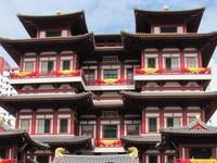 Buddha Relic Temple di Chinatown (Fitraya/ detikTravel)