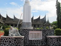 Halaman depan Museum Adityawarman (Afif/detikTravel)