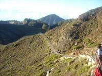 Jalur pendakian (Putri/ detikTravel)