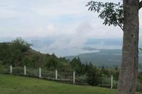 Panorama Danau Sentani  (Sastri/ detikTravel)