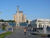 Suasana di alun-alun Kiev yang nyaman (blog.travelpod.com)