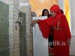 Dorce Resmikan Tempat Wudhu Masjid