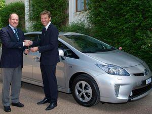 Mobil untuk Pangeran Monako