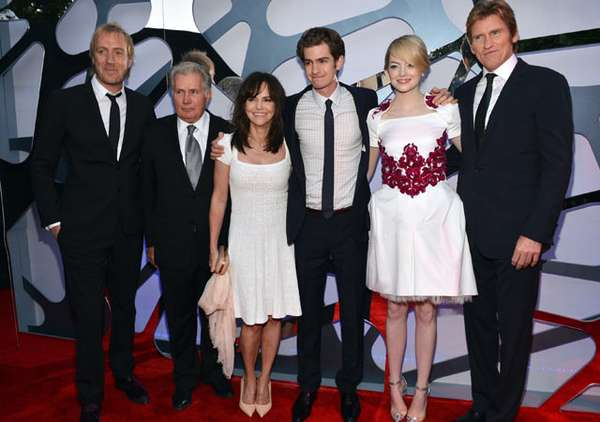 Premiere The Amazing Spider-Man di Los Angeles