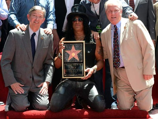 Slash di Hollywood Walk Of Fame