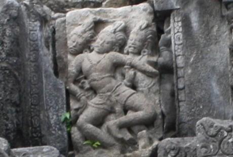(Foto Relief Prambanan/detikHealth)