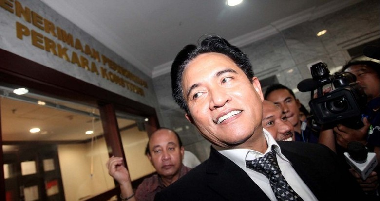 Soal Pilgub 1 Putaran, Yusril: Jakarta Pakai UU Khusus