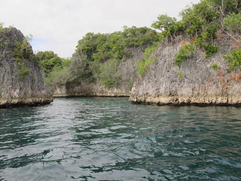Pianemo, gugusan pulau-pulau kecil nan cantik di Raja Ampat (Afif/detikTravel)