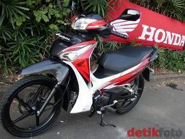 Honda Supra X125 Pakai Lampu Led Amankah