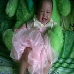 Cherryl Aegiza Sabbiya, lahir 13 Juni 2011, putri dari Keluarga Adhe Rahmawati di Jakarta. Berat Badan 11 kg dan Tinggi Badan 80 cm. 'Smile with green teddy bear'