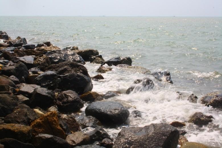 Pemandangan di tepi pantai (Afif/detikTravel)