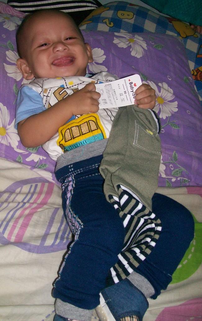Rey Haidar Herdianto, 1,2 Tahun, Lelaki