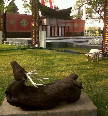 Adat Batak untuk Perayaan HUT ke-67 RI di Istana Negara