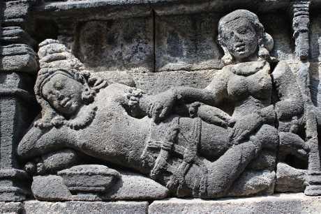 (Foto Relief Borobudur/detikHealth)