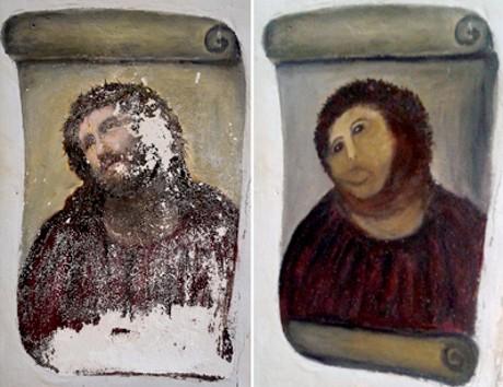 Bak Mr Bean, Nenek Ini Hancurkan Lukisan Kuno 120 Tahun