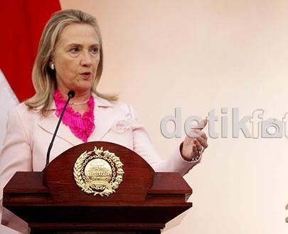 AS Hibahkan F-16, Hillary: Itu Dukungan AS untuk Keamanan Indonesia