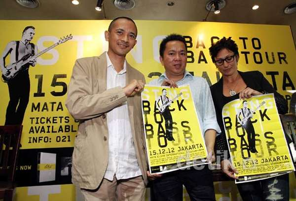 Sting Siap Gebrak Jakarta Lagi