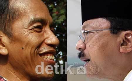 Rekapitulasi Pilgub KPUD: Jokowi Menang Tipis di Jakarta Pusat