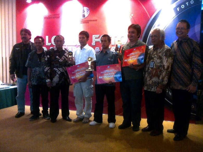 Para pemenang Lomba Foto Sadar Wisata 2012 (Putri/detikTravel)