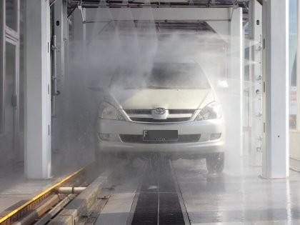 Cuci Mobil Otomatis Cuma 13 Menit