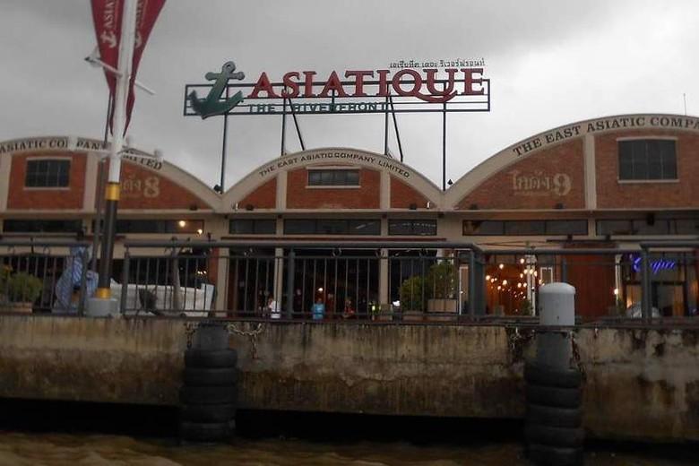 Asiatique, tempat gaul baru di Bangkok, Thailand (Novi/detikTravel)