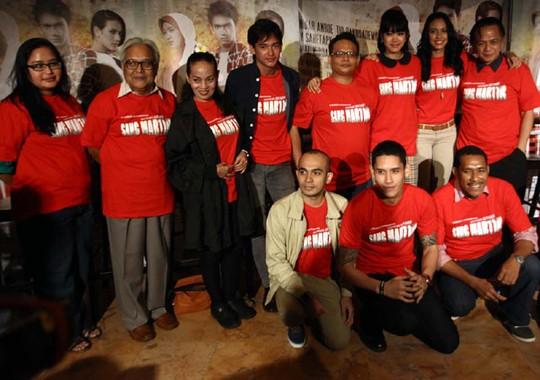 Artis-artis Senior di Film Sang Martir