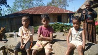 Anak-anak di Flores