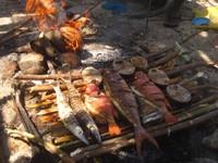 Makanan lokal yang segar