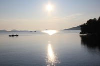 Pagi hari di 17 Pulau Riung