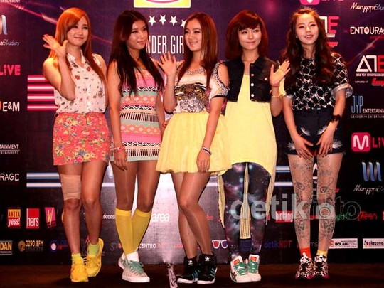 Wonder Girls Tampil Lagi di Indonesia