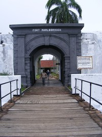 Pintu gerbang Benteng Marlborough
