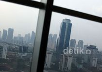 Ratusan Gedung Pencakar Langit Warnai Tata Ruang Jakarta