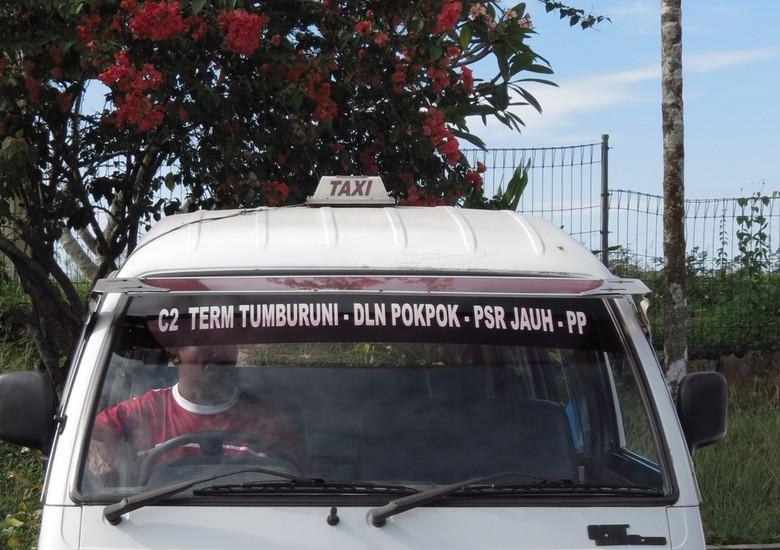 Taksi khas Papua (Evi/detikTravel)