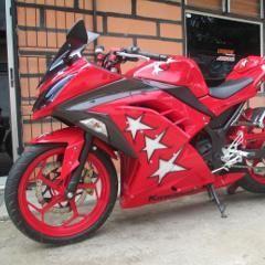 Limbad Sulap Kawasaki Ninja 250