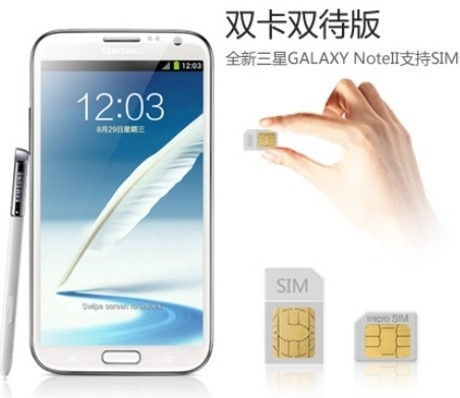 Galaxy Note II Dual SIM (unwiredview)