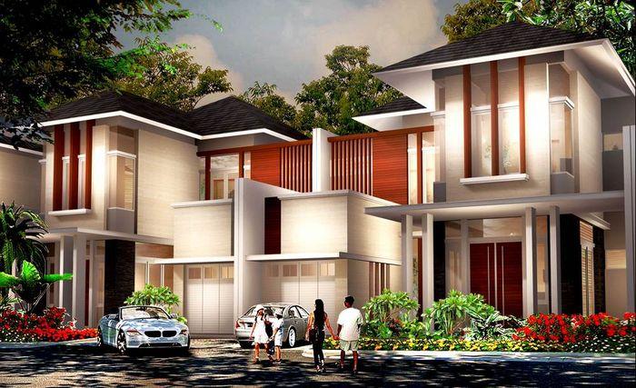 Desain Rumah Mewah Dengan Biaya Murah  sinar mas jual rumah mewah rp 2 5 miliar di cibubur