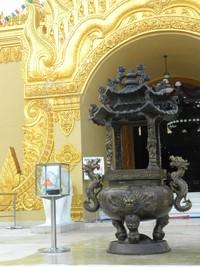 Bagian pintu masuk pagoda