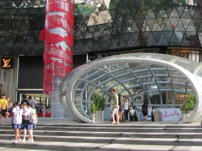 Orchard Road di Singapura (Fitraya/ detikTravel)