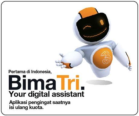 BimaTri, Aplikasi Pengingat Isi Ulang Kuota Internet Pertama di Indonesia