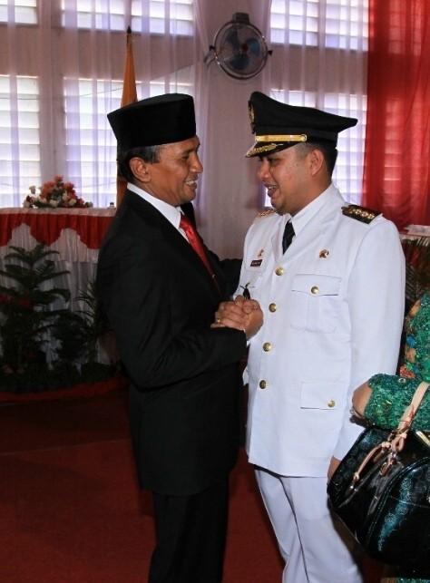 Putra Bupati Paluta Dilantik Jadi Walikota Padangsidimpuan