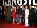 Suasana Pemutaran Perdana Film Gangster Squad