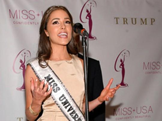 Cantiknya Miss Universe Olivia Culpo