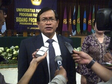Pramono: Anggota Dewan Jangan Punya Motif Ekonomi