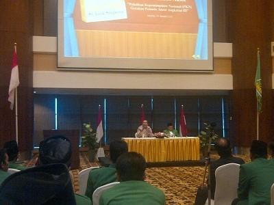 Pesan Chairul Tanjung untuk GP Ansor: Kerja Keras & Kerja Cerdas Kunci Sukses