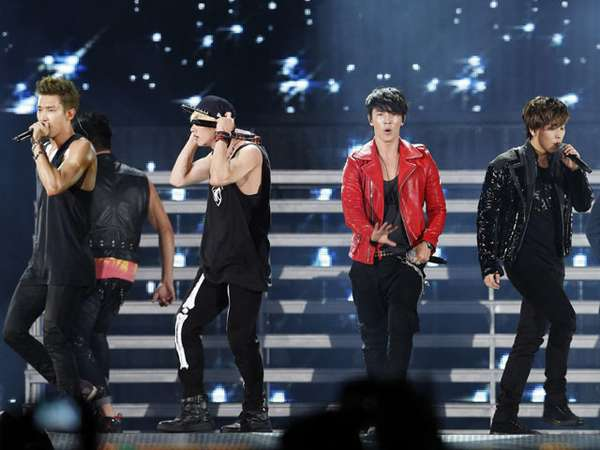 Super Junior Pukau Penonton di GDA 2013